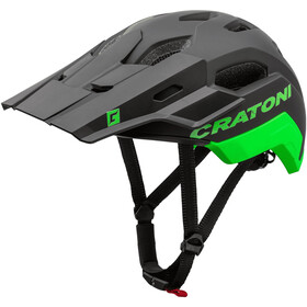 Cratoni C-Maniac 2.0 Trail Helm black/neon green matte